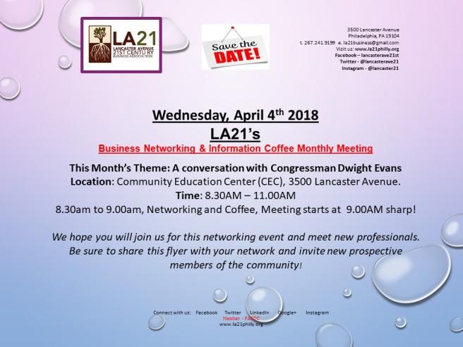 2018 LA21 INVITATIONS